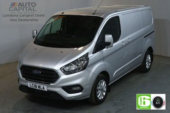 2018 FORD TRANSIT CUSTOM 2.0 300 LIMITED L1 H1 130 BHP SWB EURO 6 AIR CON  £16990.00