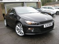 USED 2013 13 VOLKSWAGEN SCIROCCO 2.0 R LINE TDI BLUEMOTION TECHNOLOGY 2d 140 BHP Navigation. Bluetooth. Heated seats. Rear parking sensors.
