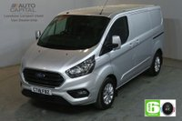 USED 2018 18 FORD TRANSIT CUSTOM 2.0 300 LIMITED L1 H1 130 BHP SWB EURO 6 AIR CON  AIR CONDITIONING EURO 6 LTD