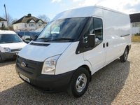 2013 FORD TRANSIT 2.2 TDCI 350 LWB MEDIUM ROOF 100 BHP 1 OWNER AIR CON FULL SERVICE HISTORY 57,526 MILES £8995.00