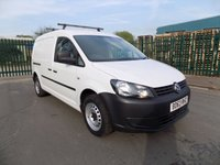 USED 2013 63 VOLKSWAGEN CADDY MAXI 1.6 C20 TDI STARTLINE BLUEMOTION TECHNOLOGY 1d 101 BHP Nice Spec - Air con - Cruise control - Sat Nav - Full History