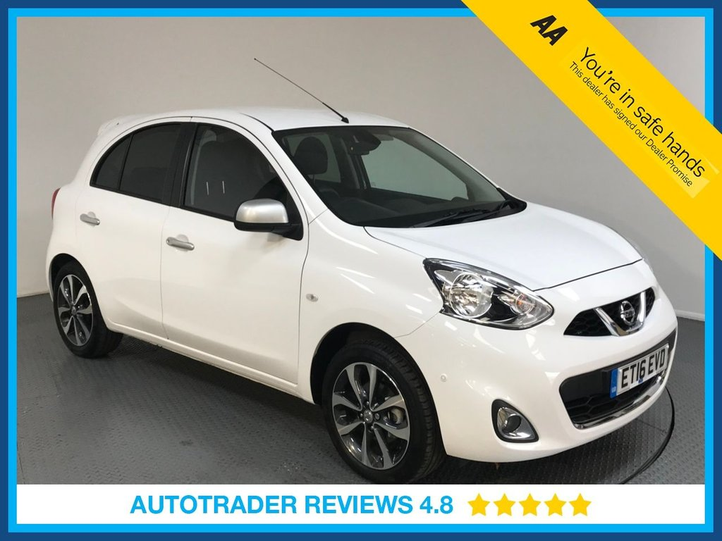 USED 2016 16 NISSAN MICRA 1.2 N-TEC 5d AUTO 79 BHP CD PLAYER - CRUISE CONTROL - AIR CON - REAR PRIVACY GLASS - PARKING SENSORS - BLUETOOTH