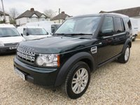 2013 LAND ROVER DISCOVERY 4 3.0 SDV6 COMMERCIAL AUTO 255 BHP 1 OWNER FULL MAIN DEALER SERVICE HISTORY 43,450 MILES £18995.00
