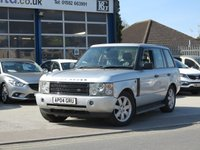 USED 2004 04 LAND ROVER RANGE ROVER 2.9 TD6 VOGUE 5d AUTO 175 BHP