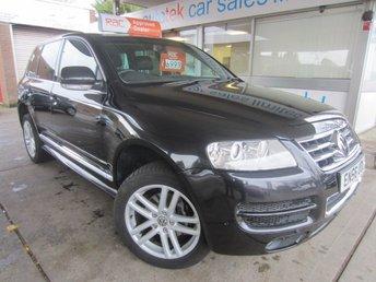 2007 VOLKSWAGEN TOUAREG 3.0 V6 TDI ALTITUDE 5d AUTO 221 BHP £6899.00