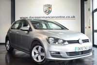 USED 2015 15 VOLKSWAGEN GOLF 2.0 MATCH TDI BLUEMOTION TECHNOLOGY 5DR 148 BHP full service history  *NO ADMIN FEES* FINISHED IN STUNNING SILVER METALLIC LEAF WITH CLOTH UPHOLSTERY + FULL SERVICE HISTORY + ADAPTIVE CRUISE CONTROL + BLUETOOTH + HEATED FOLDING MIRRORS + AUTO STOP/START + PARKING SENSORS + 16 INCH  ALLOY WHEELS