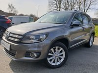 USED 2012 62 VOLKSWAGEN TIGUAN 2.0 SE TDI BLUEMOTION TECHNOLOGY 4MOTION 5d 138BHP 2KEYS+PARKAST+CLIMATE+HISTORY+