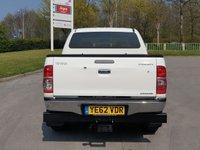 USED 2013 62 TOYOTA HI-LUX 3.0 INVINCIBLE 4X4 D-4D DCB 1d AUTO 169 BHP