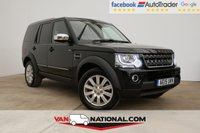 USED 2015 15 LAND ROVER DISCOVERY 3.0 SDV6 COMMERCIAL XS AUTO 255 BHP (LEATHER NAV ONE OWNER) * BLACK LEATHER * NAVIGATION  * BLUETOOTH * AIR CONDITIONING * READY TO DRIVE AWAY TODAY *