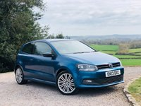 USED 2013 13 VOLKSWAGEN POLO 1.4 BLUEGT 3d 140 BHP HUGE SPECIFICATION+++