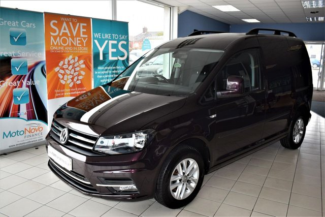 2017 17 VOLKSWAGEN CADDY 2.0 C20 TDI HIGHLINE 1d AUTOMATIC 101 BHP DSG