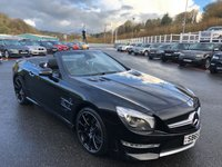 USED 2015 65 MERCEDES-BENZ SL 5.5 AMG SL 63 2d AUTO 577 BHP Cost £130,000, only 10,500 miles with high specification