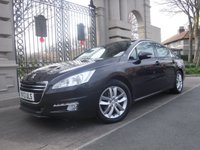 USED 2013 13 PEUGEOT 508 2.0 ACTIVE HDI FAP 4d 163 BHP ****FINANCE ARRANGED****PART EXCHANGE WELCOME***CRUISE*AUTO LIGHTS+WIPERS*SERVICE HISTORY*AUX*USB