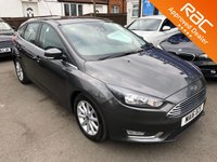 2016 FORD FOCUS 1.6 TITANIUM NAVIGATION 5d AUTO 124 BHP £SOLD