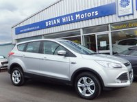 "USED 2015 65 FORD KUGA 2.0 TDCi  ZETEC  5dr (148bhp) .........ONE OWNER. FULL FORD SERVICE HISTORY. AIR COND, CRUISE. 17"" SPORT ALLOYS. LIKE NEW THROUGHOUT."