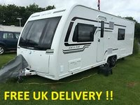 USED 1970 LUNAR DELTA TS Twi Axle Fixed Single Beds 2016 Model Touring Caravan