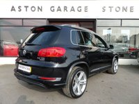USED 2016 16 VOLKSWAGEN TIGUAN 2.0 R LINE EDITION TDI BMT 4MOTION 148 BHP **LEATHER * NAV** ** PARK ASSIST * SAT NAV * LEATHER **