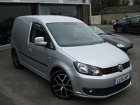 USED 2015 15 VOLKSWAGEN CADDY 1.6 C20 TDI BMT HIGHLINE 1d AUTO 101 BHP Navigation. Automatic. Air conditioning. Highline. Bluetech Cruise control Full VW service History