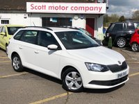 2016 SKODA FABIA 1.2 SE TSI 5 door Estate £6999.00