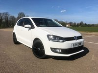 2014 VOLKSWAGEN POLO 1.2 MATCH EDITION 5d 59 BHP £7495.00