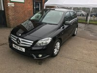 2012 MERCEDES-BENZ B-CLASS 1.6 B180 BLUEEFFICIENCY SE 5d AUTO 122 BHP £9499.00