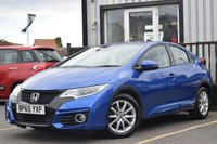 2016 HONDA CIVIC 1.6 I-DTEC SE PLUS 5d 118 BHP £9495.00