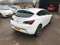 USED 2014 64 VAUXHALL ASTRA 1.4 GTC LIMITED EDITION 3d AUTO 138 BHP