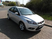 USED 2010 59 FORD FOCUS 1.8 125 Zetec Petrol 5 door Full service history. 2 owners from new. Low mileage.