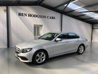 2017 MERCEDES-BENZ E-CLASS 2.0 E 200 D SE 4d AUTO 148 BHP £23995.00