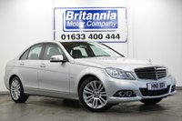 2011 MERCEDES-BENZ C-CLASS 1.8 C180 BLUEEFFICIENCY ELEGANCE 155 BHP £7590.00