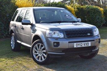 2012 LAND ROVER FREELANDER 2.2 SD4 HSE 5d AUTO 190 BHP £10000.00