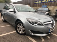 USED 2014 14 VAUXHALL INSIGNIA 2.0 DESIGN CDTI ECOFLEX S/S 5d 118 BHP FULL MAIN DEALER SERVICE HISTORY + 1 PREVIOUS OWNER