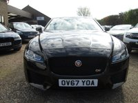 USED 2017 67 JAGUAR XF 2.0 D PORTFOLIO AWD 4d AUTO 238 BHP £4,070 OF FACTORY OPTIONS FITTED