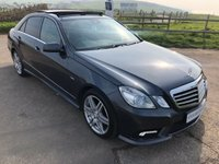 2011 MERCEDES-BENZ E CLASS 3.0 E350 CDI BLUEEFFICIENCY SPORT 4d 265 BHP £11995.00