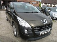 USED 2010 10 PEUGEOT 3008 1.6 SPORT 5DR LOW MILEAGE SERVICE HISTORY