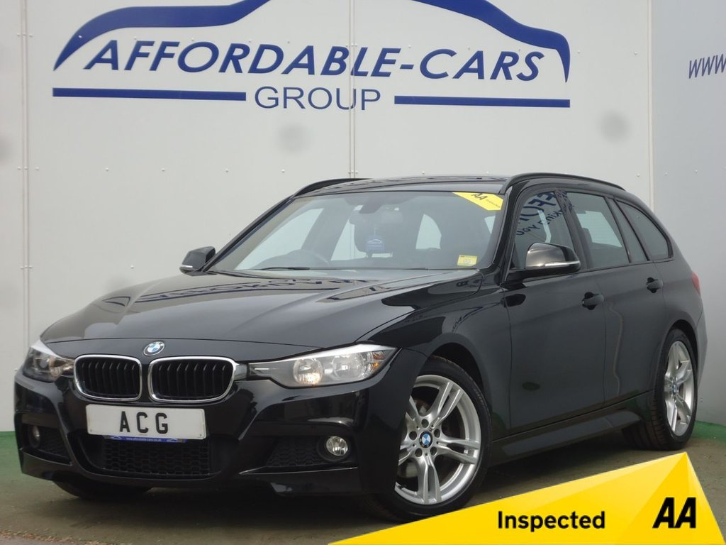 USED 2013 13 BMW 3 SERIES 2.0 320D M SPORT TOURING 5d AUTO 181 BHP