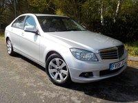 2008 MERCEDES-BENZ C-CLASS 2.1 C220 CDI SE 4d AUTO 168 BHP £5995.00