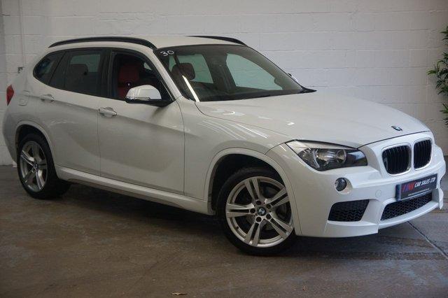 2012 62 BMW X1 2.0 SDRIVE18D M SPORT 5d AUTO 141 BHP SOLD TO REBECCA