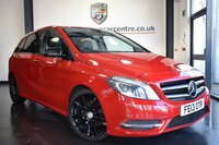 USED 2013 13 MERCEDES-BENZ B-CLASS 1.8 B180 CDI BLUEEFFICIENCY SPORT 5DR 109 BHP excellent service history  *NO ADMIN FEES* FINISHED IN STUNNING JUPITER RED WITH FULL BLACK LEATHER INTERIOR + EXCELLENT SERVICE HISTORY + BLUETOOTH + REVERSE CAMERA + CRUISE CONTROL + PRIVACY GLASS + MULTI FUNCTION STEERING WHEEL + ELECTRIC MIRRORS + 18 INCH ALLOY WHEELS