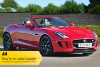 USED 2013 13 JAGUAR F-TYPE 3.0 V6 S 2d AUTO 380 Supercharged Performance Seats FJSH High Spec