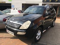 USED 2004 54 SSANGYONG REXTON 2.7 RX 270 SX 7 TD 5d AUTO 163 BHP