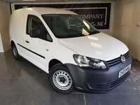 USED 2015 64 VOLKSWAGEN CADDY 1.6 C20 TDI STARTLINE 1d + 1 OWNER + FULL HISTORY + 2KEYS + VAT