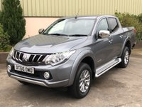 USED 2017 66 MITSUBISHI L200 2.4 DI-D 4WD WARRIOR DCB 1d 178 BHP LEATHER, SAT NAV, REVERSE CAMERA, ELECTRIC HEATED SEATS