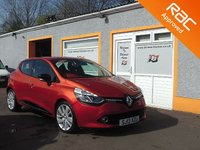 "USED 2013 13 RENAULT CLIO 0.9 DYNAMIQUE S MEDIANAV ENERGY TCE S/S 5d 90 BHP 17 "" Alloys, Sat Nav, Bluetooth, Parking Sensors, Front Fogs"
