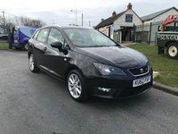 USED 2012 62 SEAT IBIZA 1.6 CR TDI FR 105ps 5 DOOR BLACK Very nice well looked after car