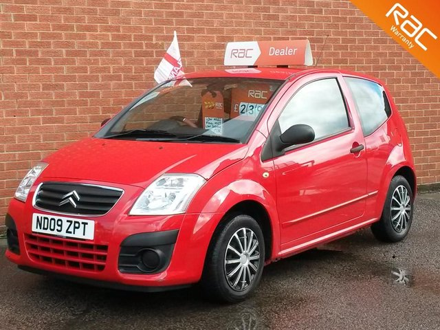 2009 09 CITROEN C2 1.1 RHYTHM 3d  IDEAL 1st CAR