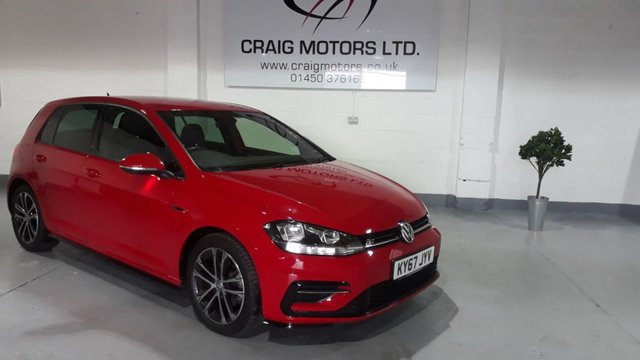 2017 67 VOLKSWAGEN GOLF 2.0 R-LINE TDI BLUEMOTION TECHNOLOGY DSG 5d AUTO 148 BHP