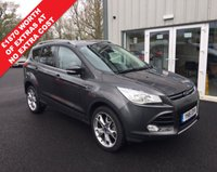 USED 2016 16 FORD KUGA 2.0 TDCI TITANIUM 140 BHP THIS VEHICLE IS AT SITE 1 - TO VIEW CALL US ON 01903 892224