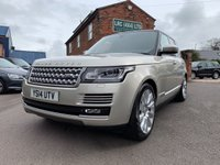 USED 2014 14 LAND ROVER RANGE ROVER 3.0 TDV6 VOGUE 5d AUTO 258 BHP BEAUTIFUL RANGE ROVER VOGUE