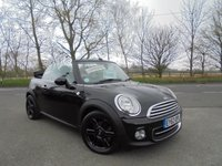 USED 2013 63 MINI CONVERTIBLE 1.6 COOPER 2d 122 BHP